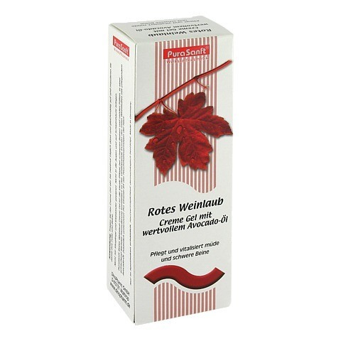 DINOSAN Rotes Weinlaub Creme 175 Milliliter