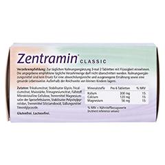 ZENTRAMIN classic Tabletten 100 Stück - Rückseite
