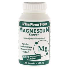 MAGNESIUM 350 mg Kapseln 200 St�ck