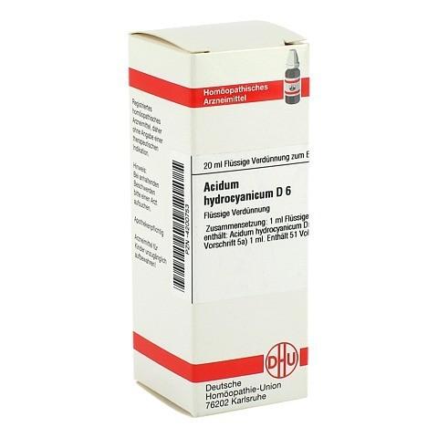 ACIDUM HYDROCYANICUM D 6 Dilution 20 Milliliter N1