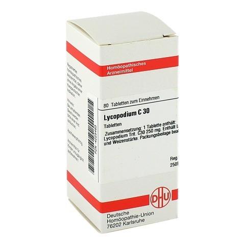 LYCOPODIUM C 30 Tabletten 80 St�ck