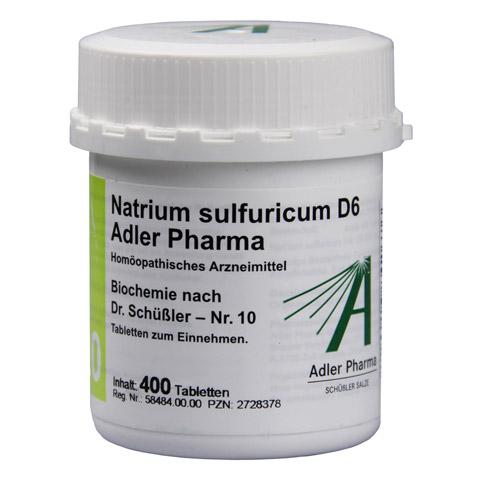 BIOCHEMIE Adler 10 Natrium sulfuricum D 6 Tabl. 400 St�ck