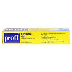 Proff Schmerzgel 50mg/g 100 Gramm N2 - Unterseite