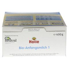 HOLLE Bio Säuglings Milchnahrung 1 400 Gramm - Unterseite