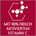 Mit 10% Frisch aktiviertem Vitamin C