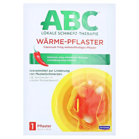 ABC Wärme-Pflaster Capsicum 11mg Hansaplast med 1 Stück