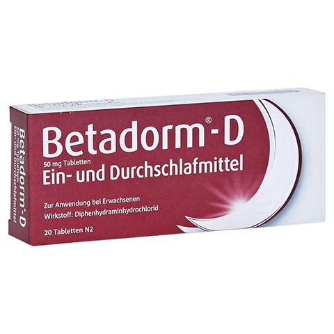 Betadorm-D 20 Stück N2