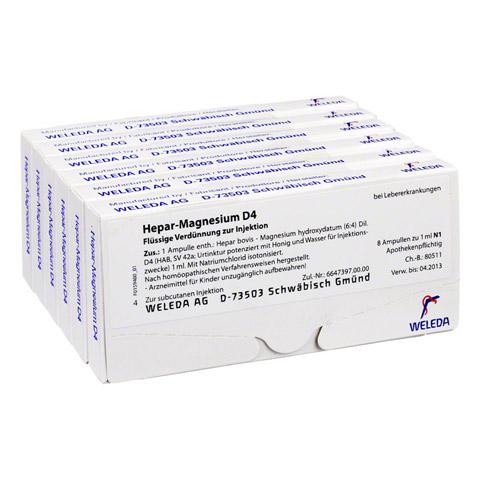 HEPAR MAGNESIUM D 4 Ampullen 48x1 Milliliter N2