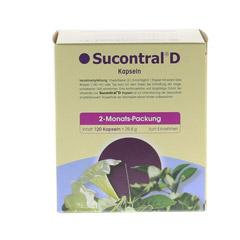 SUCONTRAL D Diabetiker Kapseln 120 St�ck - R�ckseite