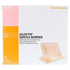 ALLEVYN Gentle Border 12,5x12,5 cm Schaumverb. 5 Stück - Vorderseite