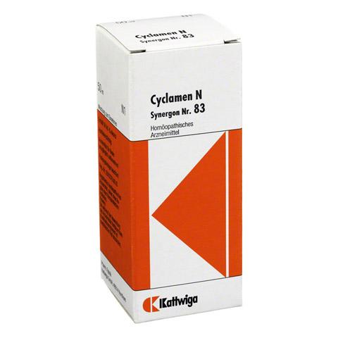 SYNERGON KOMPLEX 83 Cyclamen N Tropfen 50 Milliliter N1