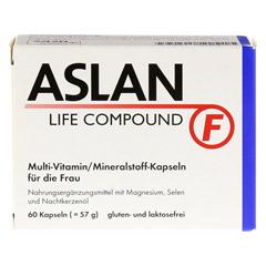 ASLAN Life Compound F Kapseln 60 St�ck - Vorderseite