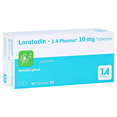 Loratadin-1A Pharma 50 Stück N2