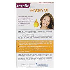TAXOFIT BEAUTY Argan Öl Kapseln 40 Stück - Rückseite