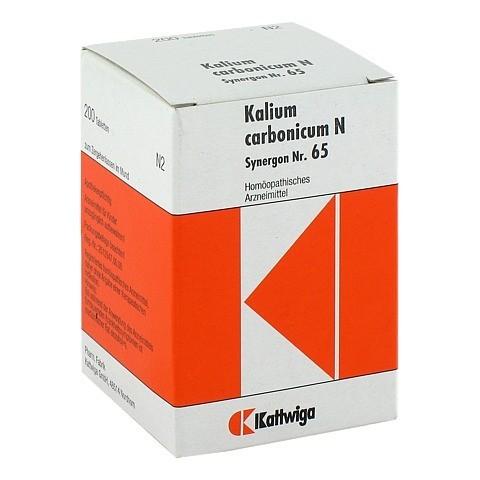 SYNERGON KOMPLEX 65 Kalium carbonicum N Tabletten 200 Stück