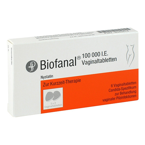 Biofanal 100000I.E. 6 Stück