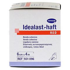 IDEALAST-haft color Binde 6 cmx4 m rot 1 Stück - Linke Seite