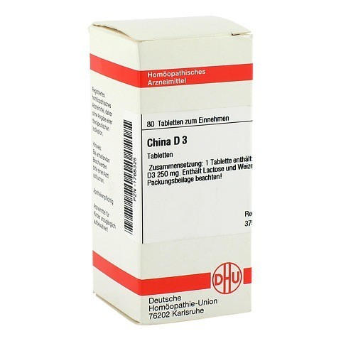 CHINA D 3 Tabletten 80 Stück N1