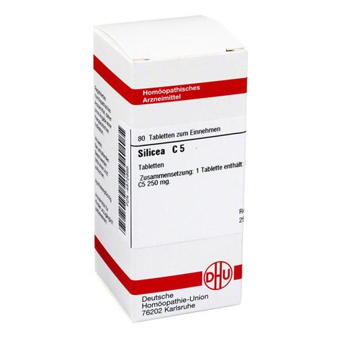 SILICEA C 5 Tabletten 80 Stück N1