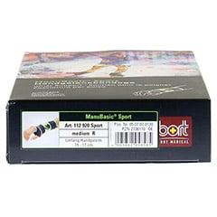 BORT ManuBasic Sport Bandage re.medium schw/gr�n 1 St�ck - Unterseite