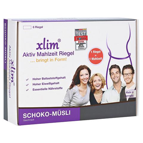 XLIM Aktiv Mahlzeit Riegel Schoko-Müsli 6x56 Gramm