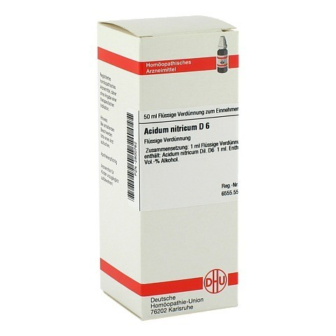 ACIDUM NITRICUM D 6 Dilution 50 Milliliter N1