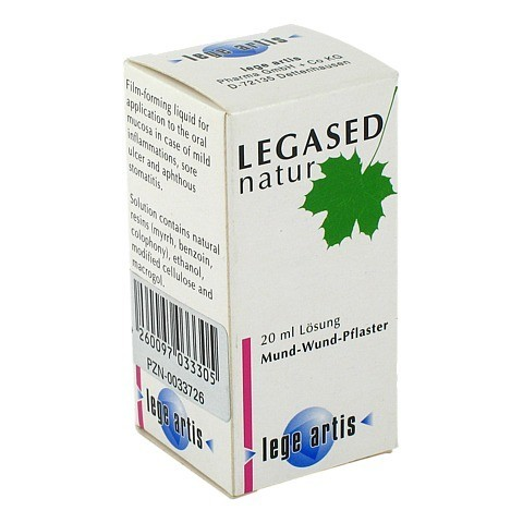 Legased Natur Lösung 20 Milliliter