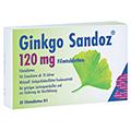 Ginkgo Sandoz 120mg 30 St�ck N1