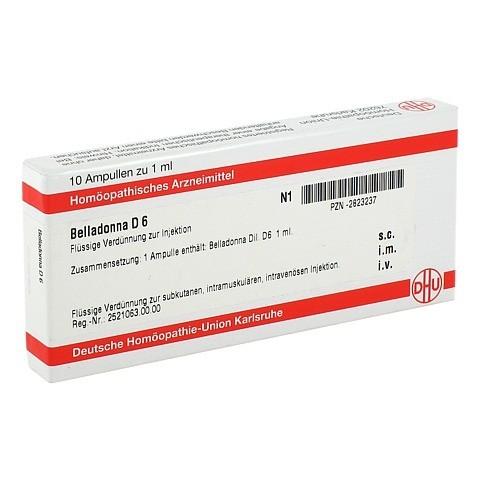 BELLADONNA D 6 Ampullen 10x1 Milliliter N1