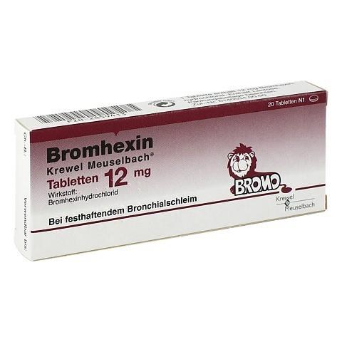 Bromhexin Krewel Meuselbach 12mg 20 Stück N1