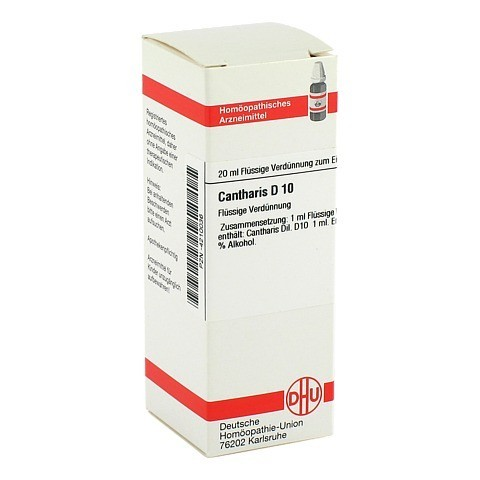 CANTHARIS D 10 Dilution 20 Milliliter N1