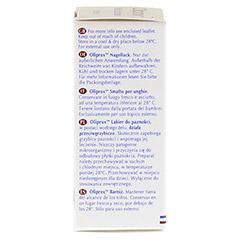 OLIPROX Nagellack bei Pilzbefall 12 Milliliter - Linke Seite