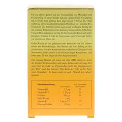 ALSIFEMIN Gelee Royal+Vit.E m.Ginseng Kapseln 120 Stück - Rückseite