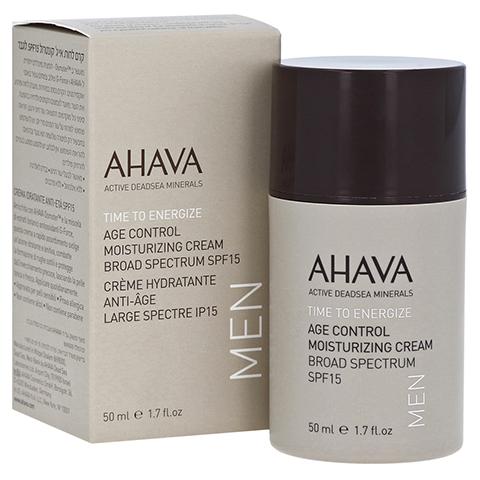 Ahava Men Age Control Moisturizing Cream SPF 15 50 Milliliter