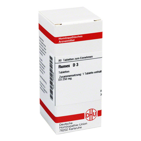 RUMEX D 3 Tabletten 80 St�ck N1