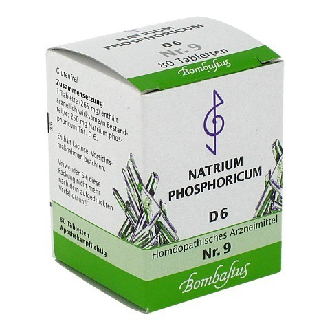 Biochemie 9 Natrium phosphoricum D 6 Tabletten 80 St�ck N1