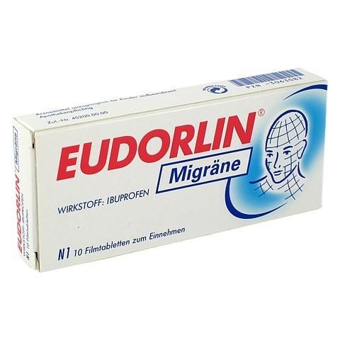 EUDORLIN Migräne 10 Stück N1