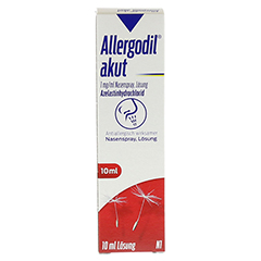 Allergodil akut 10 Milliliter N1 - Vorderseite