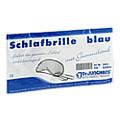 SCHLAFBRILLE mit Gummiband blau