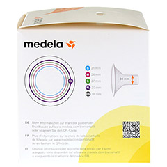 MEDELA Personal Fit Brusthaube Gr.XL 2 St 1 Packung - Linke Seite