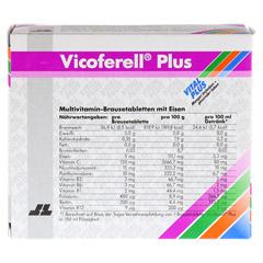 VICOFERELL plus Brausetabletten 30 Stück - Rückseite