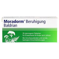 Moradorm Beruhigung Baldrian 20 Stück - Vorderseite