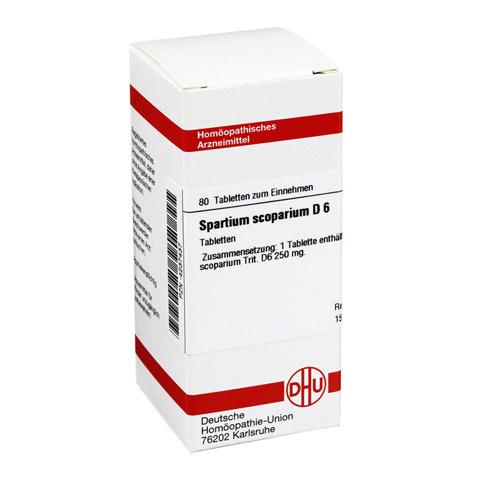 SPARTIUM SCOPARIUM D 6 Tabletten 80 St�ck N1