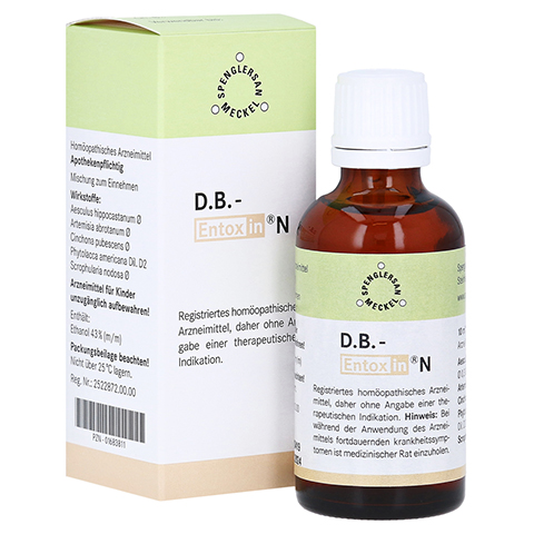 D.B. Entoxin N Tropfen 50 Milliliter N1