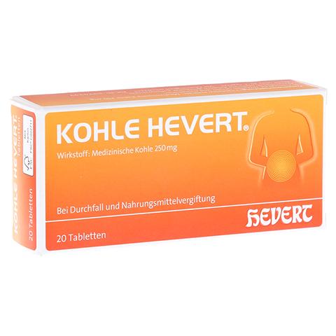 Kohle-Hevert 20 Stück