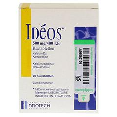 IDEOS 500 mg/400 I.E. Kautabletten 90 St�ck - Vorderseite