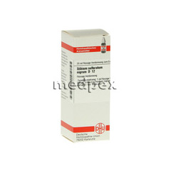 STIBIUM SULFURATUM NIGRUM D 12 Dilution 20 Milliliter N1