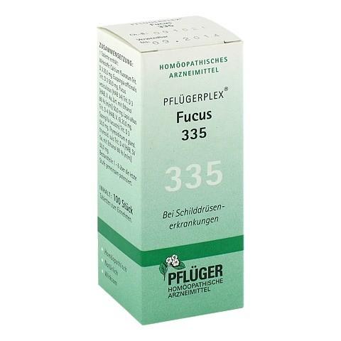 PFLÜGERPLEX Fucus 335 Tabletten 100 Stück N1