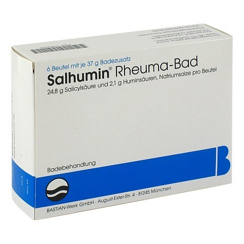 Salhumin Rheuma-Bad 6 Stück