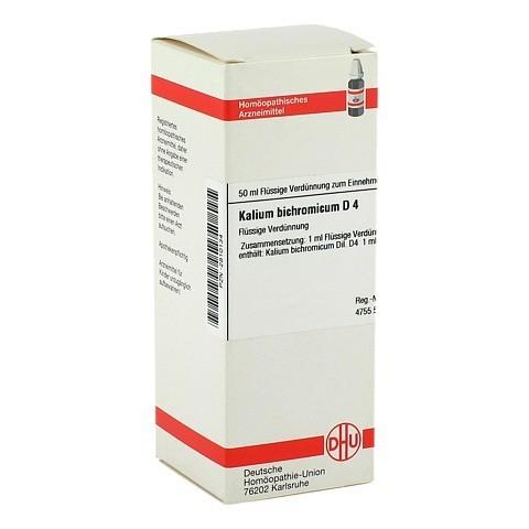 KALIUM BICHROMICUM D 4 Dilution 50 Milliliter N1